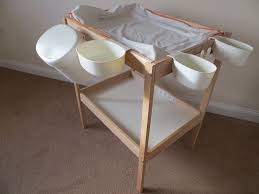 Sniglar Change Table Ikea Sniglar Changing Table With 4 Storage Baskets Safety Mat And