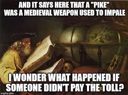Pike Meme - someone has some explaining to do imgflip