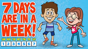 How Many Weeks In A Year by Days Of The Week Song 7 Days Of The Week Children U0027s Songs By