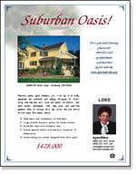 real estate flyer examples real estate flyer templates xerox for small businesses