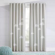Blackout Curtains For Nursery Curtains Hardware Bedroom Nursery Crate And Barrel