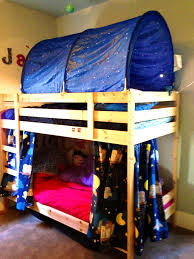 Bed Fort Clever Kids Design And Tree Forts And Your House Its Good Idea For