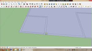 how to make a simple home floor plan using google sketchup 2013 by