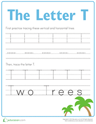 ideas of letter t tracing worksheets preschool for your download