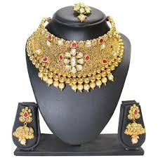 broad necklace set necklace sets bhairav fancy ornaments