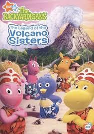 backyardigans legend volcano sisters dvd
