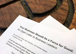 your business should be a force for good an open letter to