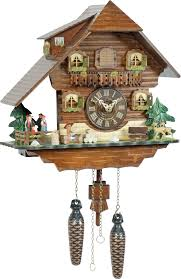 Chalet Style by Cuckoo Clock Quartz Movement Chalet Style 30cm By Trenkle Uhren