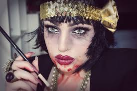 1920s vampire flapper halloween tutorial smashing