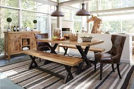 stunning and classy modern dining room ideas with bench seating