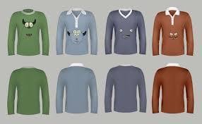 t shirt template pack psd u0026 vector files design shock
