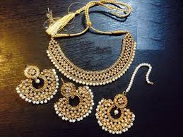 gold set reet jewellery set in gold price in pakistan m007529