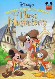 musketeers disney u0027s wonderful reading