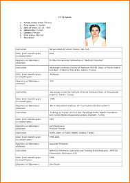 Resume Format For Jobs In Dubai by Resume Format For Jobs Business Schedule Templates Free