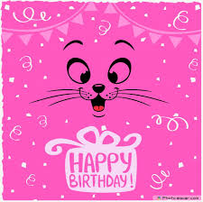 Happy Wedding Elsoar Pink Image Happy Birthday With Funny Emoticon Happy Birthdaaay