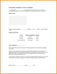 partnership contracts template with 100 entertainment contracts