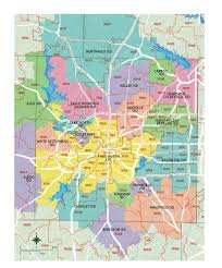 fort worth map map of tarrant county districts relocate to fort worth