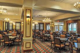 acts normandy farms nursing home renovations dining room lobby