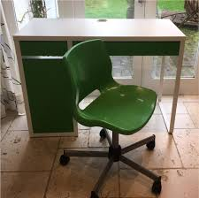 Kids Office Desk by Micke Ikea Desk Kids Office Green With Matching Swivel Chair