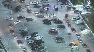halloween stores culver city large brawl at mall leads to pandemonium at westfield culver city