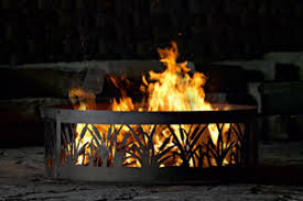 rings with fire images Campfire fire rings fire rings fire pit ring whitetail fire jpg