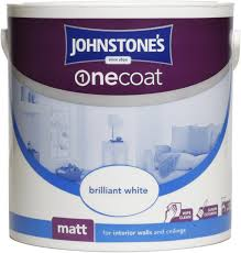 johnstone u0027s 304133 2 5 litre one coat matt emulsion paint