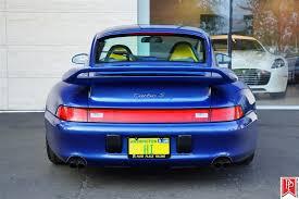 97 porsche 911 for sale cobalt blue porsche 993 turbo s for sale car list