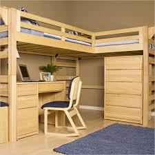 Bunk Bed With A Desk Loft Bed With Slide Glamorous Bedroom Design