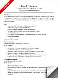 Resume Sales And Marketing Objectives by Marketing Director Resume Director Of Marketing Resume Sample
