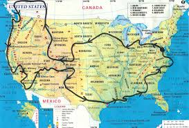 Road Trip Map The Road Trip U2013 Morgan Conover