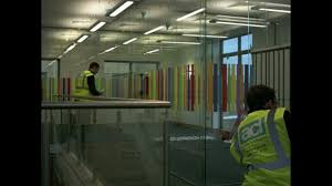 frameless glass partitions and glass manifestation design youtube
