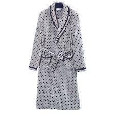 achat robe de chambre homme robe de chambre polaire homme grise pois liseré achat vente robe