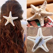 starfish hair clip women starfish hair clip sea hairpin at