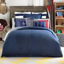 Indie Duvet Covers Amazon Com Tommy Hilfiger Denim Duvet Cover Blue Twin Home