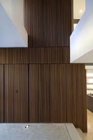 wood paneling modern g house by bruce stafford architects south wales sydney and