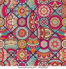 pattern fabric ottoman seamless pattern vintage decorative elements hand drawn background