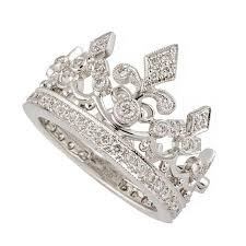 gold crown rings images Garrard diamond white gold crown ring for sale at 1stdibs jpg