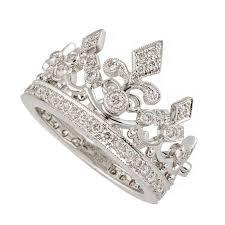 gold crown rings images Garrard diamond white gold crown ring for sale at 1stdibs jpg