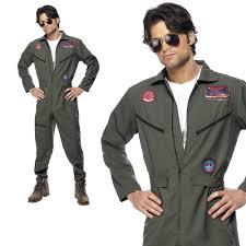 top gun jumpsuit mens fancy dress costumes top gun ebay