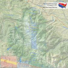 Jackson Hole Wyoming Map Wyoming Eclipse U2014 Total Solar Eclipse Of Aug 21 2017