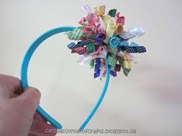 korker ribbon carole s corner of crafts craft how to make korker ribbon