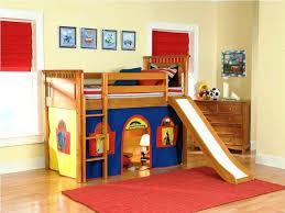 childrens modern loft beds industrial loft bed with rock climbing