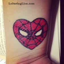 45 spiderman tattoos
