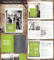 annual report template word 15 annual report templates with awesome indesign layouts