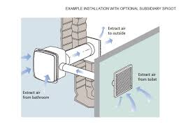 how do bathroom fans work nuaire cyfan available from home ventilation solutions
