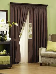 living room brown curtains brown curtains and drapes