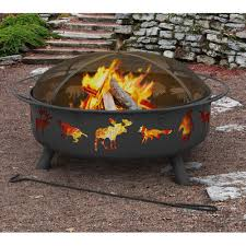 Landman Firepit Landmann Sky Steel Wood Burning Pit Reviews Wayfair