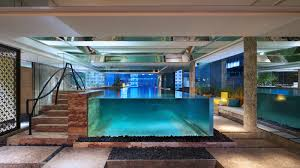 pristine indoor swimming pool keraton at the plaza jakarta