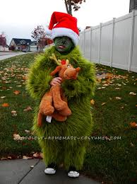grinch costume grinch stole christmas costumes costume model ideas