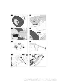 stiga lawn mower 125 combi pro instructions manual czech version